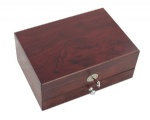 matte finish wood jewelry box